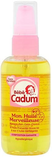 Huile de massage bébé Bébécadum - Bébécool