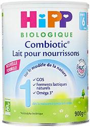 Lait Bébé bio Hipp premier âge Combiotic 1