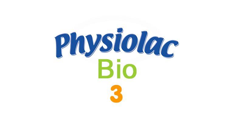 Composition lait en poudre Physiolac Bio 3