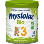 Lait de croissance Physiolac Bio 3