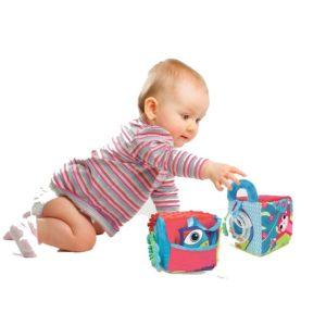 Cubes bébé en tissu - Ludi