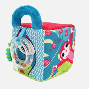 Cube bébé en tissu avec miroir - Ludi