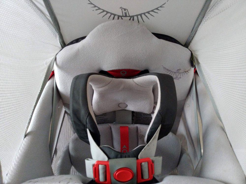 Harnais sécurisé du porte bébé Poco AG Premium de Osprey