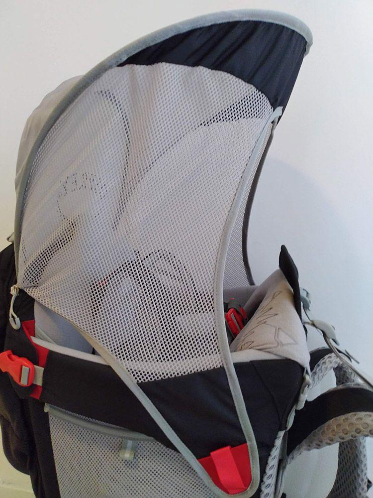 Pare soleil porte bébé Osprey Poco AG Premium - Noir