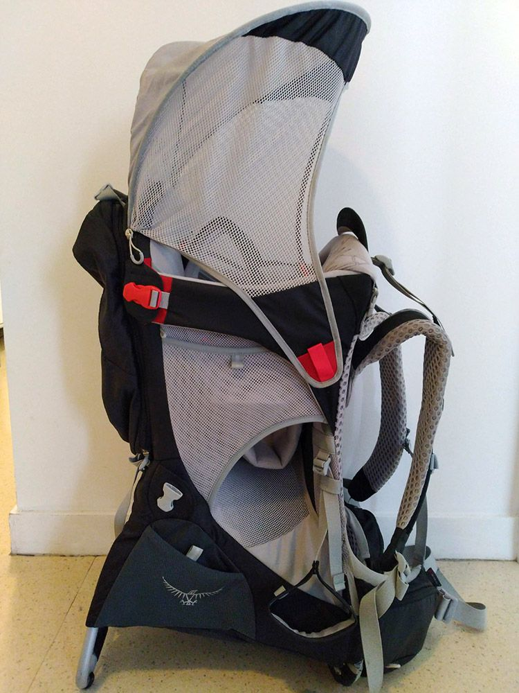 Porte bébé Osprey Poco AG Premium avec Pare Soleil