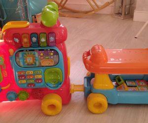 Pousseur bébé train Maxi Trotti Loco de Vtech