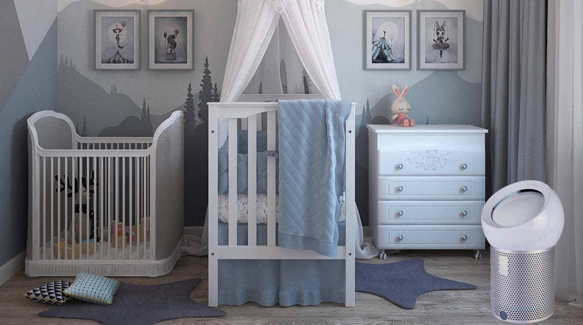 Comment purifier l'air de la chambre de votre bébé avec un purificateur ?
