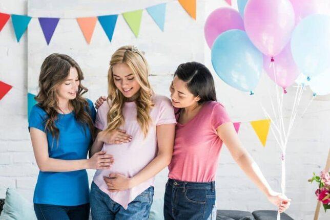 Baby shower ou fête pré natale