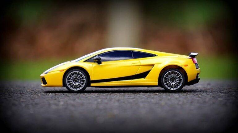 Voiture électrique enfant Lamborghini
